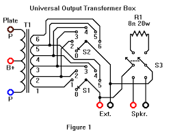 star city antique radios a universal shop speaker universal output transformer box schematic