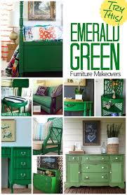 emerald green painted furniture european paint finishes. gorgeous furniture makeovers featuring the color emerald green try painting a bureau table or painted european paint finishes s