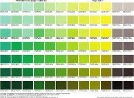 Cmyk Color Chart Interesting Verdegrigio Pantone In 44 Pinterest Pantone