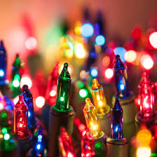Christmas Lights - 50 Multi Color Mini Christmas Lights, 8 ...