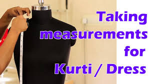 Lesson 1 How To Take Body Measurements For Womens Kurti Dress Easy Step By Step