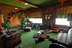 jungle themed living room