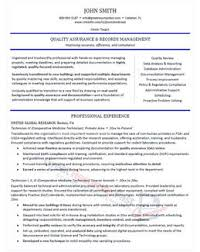 Manager Resume Sample Executive Resume Samples Professional Resume Samples