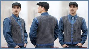 Mens Vest Pattern Free Unique Inspiration Design