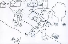 Bella Topo Disegno Colorato Per Bambini Migliori Pagine Da