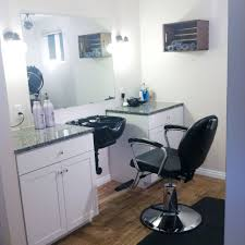 Simple Beauty Parlour Design Small Home Hair Salon Home Hair Salons Beauty Salon