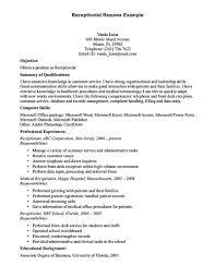resume sample medical assistant job description duties volumetrics front desk receptionist resume sample front desk receptionist receptionist job duties responsibilities receptionist job role description