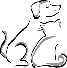 dog and cat black and white. Delighful And Dog Cat Animal Pet Cute Silhouette For And Black White N