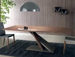 modern walnut dining table bron danish round mid century
