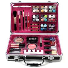 makeup set box. professional vanity case cosmetic make up urban beauty box travel carry gift 57 piece storage organizer - eyes lips face nail: amazon.co.uk: makeup set r