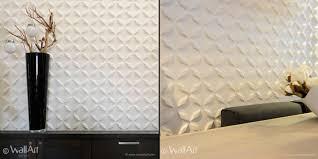 wallart introduced  on 3 d wall art panels with wallart eco friendly 3d wall panels retail design blog
