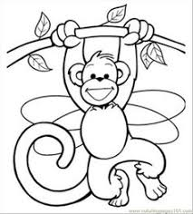 14 Best Ideas For Classroom Images Monkey Coloring Pages Coloring
