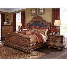 Mansion Bedroom Furniture Michael Amini Tuscano Melange King Size Mansion Bed By Aico For