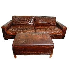 restoration hardware leather sofa restoration hardware leather sofa with ottoman restoration hardware lancaster leather sleeper sofa