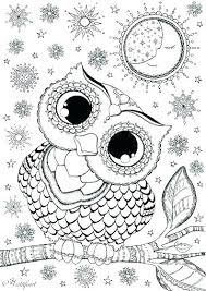 Baby Owl Coloring Pages To Print Free Owl Coloring Pages To Print