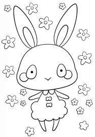 Disegno Di Coniglietta Kawaii Da Colorare Disegni Da Colorare E