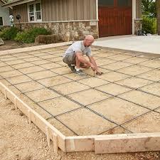 prep for free concrete