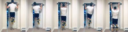 5 easy pull up bar exercises for