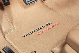 tan carpet floor. Tan Carpet Mat With Porsche Cayenne Logo Floor O