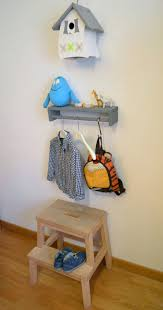 Coat Rack Shelf Ikea mommo design IKEA HACKS FOR KIDS Bekvam spice rack as shelfcoat 100