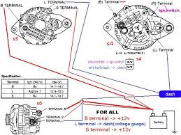 fd alternator into s4 wiring problems and then some rx7club com 2004 Ford Escape Parts Diagram at 2002 Ford Escape Alternator Wiring Diagram