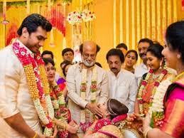 Indian Wedding Malai New Design Flower Power Ruled Soundarya Rajnikanths Wedding Decor