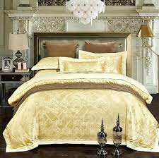 gold luxury bedding luxury bedding sets jacquard bedspreads gold yellow duvet cover set pertaining to gold