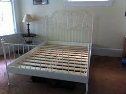 Ikea LEIRVIK slatted bed frame, white. $120 (was $220 new)