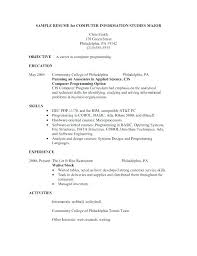 waitress sample resume restaurant waiter resume sample example of resume for waitress image