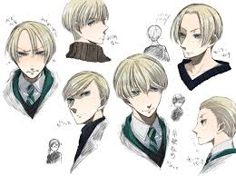 Hair Style Anime draco malfoy harry potter zerochan anime image board 7228 by wearticles.com