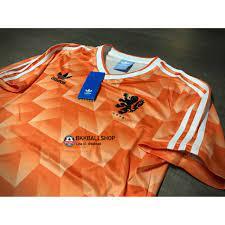 Retro] - เสื้อฟุตบอล ย้อนยุค Netherland Holland Home ฮอลแลนด์ เหย้า ชุดแชมป์บอล  ยูโร ปี 1988