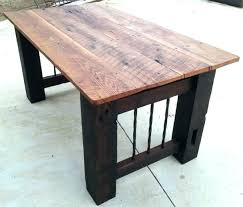 wood office table. Dining Table Office Desk Reclaimed Wood .