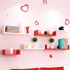 set of 3 u shaped floati tray wall wedge shelves book storage shelf modern style home u shaped floating shelf 1 shelves