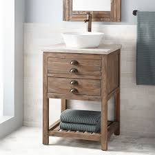 24 vessel sink vanity.  Vanity SIGNATURE HARDWARE 24 For 24 Vessel Sink Vanity B