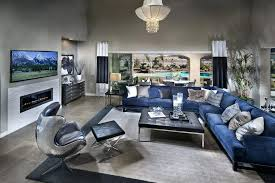 navy blue grey white living room decor ideas picture
