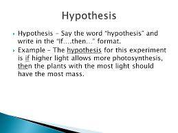 many of the past national ap biology lab based essay questions  3  hypothesis