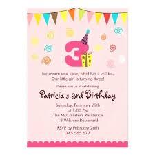 3rd birthday invitations party invitation wording boy template