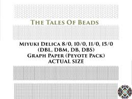 Miyuki Delica Peyote Or Brick Stitch Beading Graph Paper Actual Size Seed Bead Graph Paper Miyuki Beading Graph Templates Printable Charts