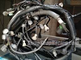 wiring harness conversions for honda acura engine swaps ssr 92 95 civic del sol 94 01 integra h22a engine wiring harness conversion cores required
