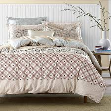 owl comforter set king bedding sets queen size cotton printed fabric plaid 16