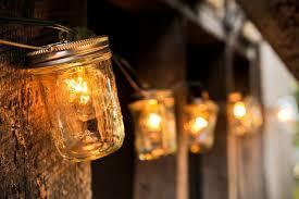 Image Pinterest Simple Ball Jar String Lights Masonjarlighthalfpint Garden Lovers Club 10 Ideas For Outdoor Mason Jar Lights To Add Romantic Glow To Your