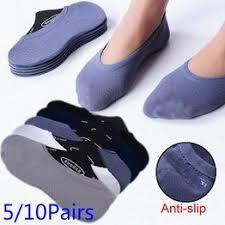 5/10 Pairs Summer Unisex Socks Super Thin Casual 100 ... - Vova