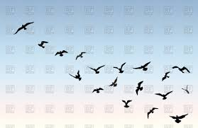 blue bird flying silhouette. Wonderful Silhouette Bird Flying Silhouette Over Blue Sky Background Vector Image U2013  Artwork Of Silhouettes Outlines Click To Zoom To Blue Flying Silhouette