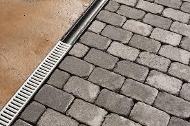 installing a channel drain