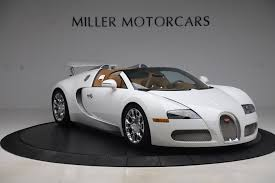 Designed for the existing customers who were asking for a sportier version. Pre Owned 2011 Bugatti Veyron 16 4 Grand Sport For Sale Miller Motorcars Stock 7809