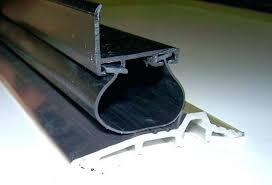 garage door seal track weatherstrip nails sealing strip sealer home depot weather stripping decorating awesome