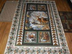 Using Fabric Panels in Quilts | Quilts | Pinterest | Fabric panels ... & quilts made with panels - Google Search Adamdwight.com