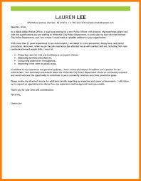 10 Police Cover Letter Letter Setup