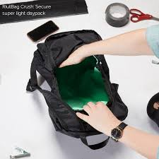 Light Daypack Super Light Secure Daypack Riutbag Crush