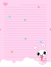 Lined Stationery Paper Interesting Stationery Paper Template Free Printable Writing Paper Free